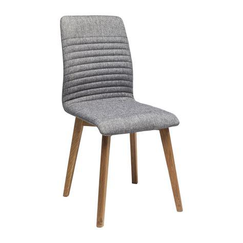 chaise kare design chaise contemporaine grise lara kare design