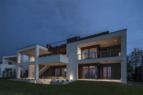 lake side duplex house  toth project hungary