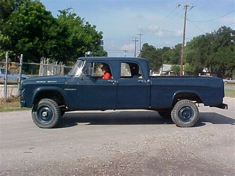 1964 W200 Dodge Power Wagon Crew Cab