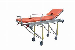 Used Hospital Ambulance Beds Wheels Trolley For Sale