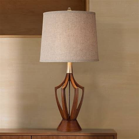 "St Claire 31"" High Midcentury Modern Table Lamp #y0104"