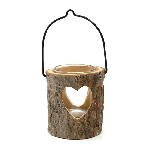 wooden heart tea light holder hobbycraft