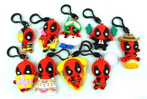 marvel deadpool series  figural bag clips figurescom