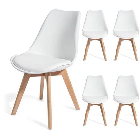 chaise blanche pas cher chaise bois blanc pas cher 28 images chaise de cuisine