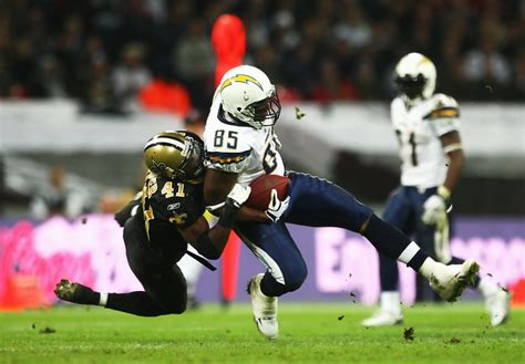 Antonio Gates In San Diego Chargers V New Orleans Saints