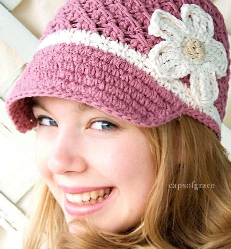 Free Adult Crochet Hat With Brim Pattern