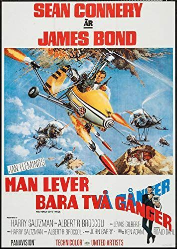 You Only Live Twice (1967) | Sean connery, James bond ...