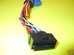 jvc car stereo wire audio wiring harness 16 pin ebay