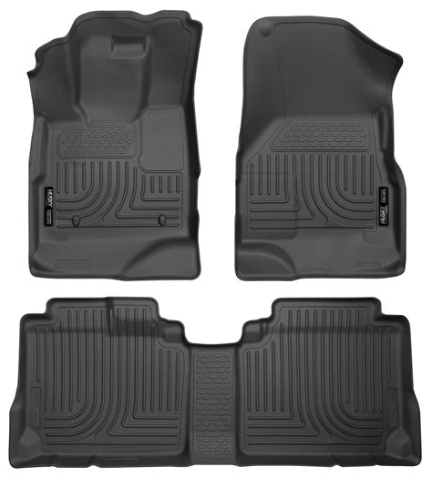 Chevy Equinox Floor Mats 2016 by 2010 2016 Chevy Equinox Gmc Terrain Floor Mats Black Husky