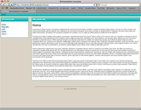 Richtemplates — Djangorichtemplates V0312 Documentation