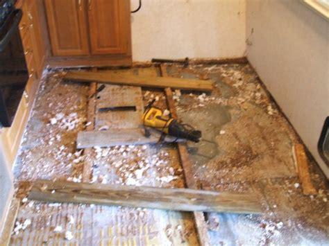 rv  camper trailer floor replacement repair step