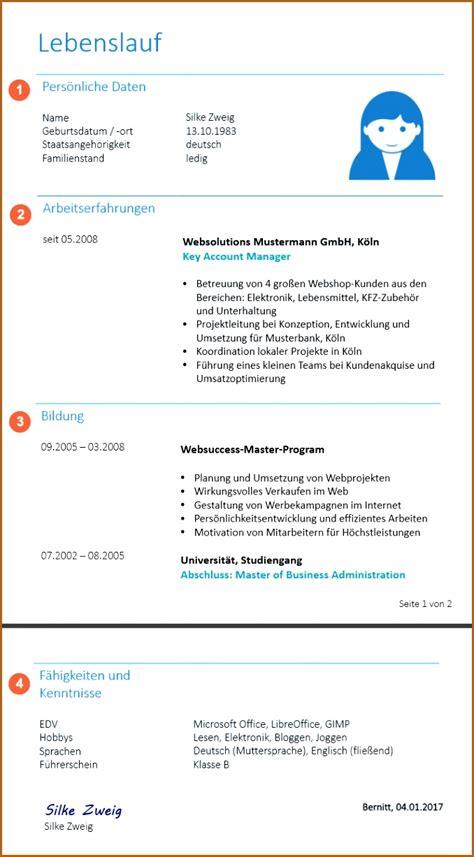 Lebenslauf Muster Schreiben by 19 Bewerbungen Richtig Schreiben Vorlagen123 Vorlagen123