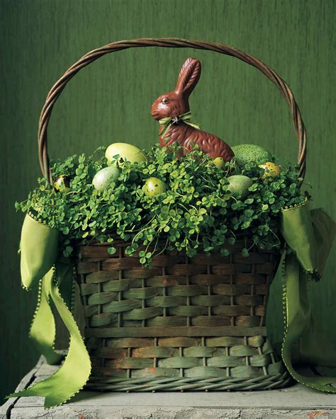 awesome easter basket ideas martha stewart