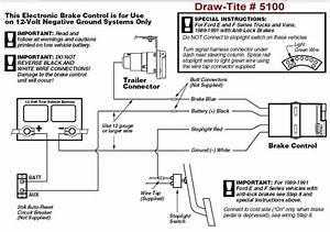 Draw Tite Brake Controller Wiring Diagram
