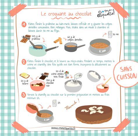 tablette pour recette de cuisine recette croquant chocolat recette croquant découvrir et