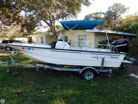 Whaler Fishing Boats by 2006 Used Boston Whaler 170 Montauk Center Console Fishing