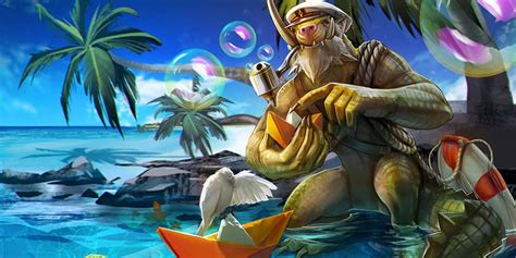 Introducing Summer Party Phinn!  Vainglory Discussion On
