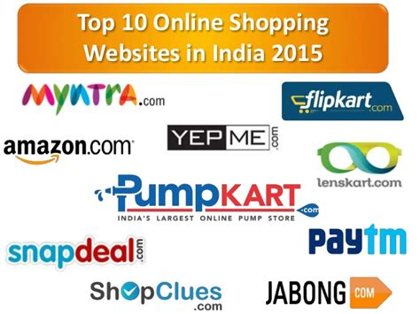 Top 10 Online Shopping Websites In India 2015