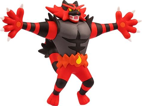 pokemon monster collection  exw  incineroar malicious