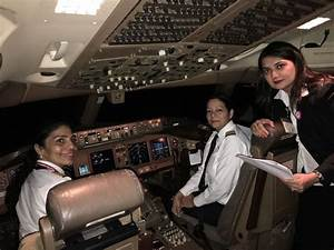 Meet the all-women crew: Air India's women pilots flying ...