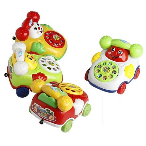 Baby Toy Cartoon Phone Music Educational Kids Toys Gift ...
