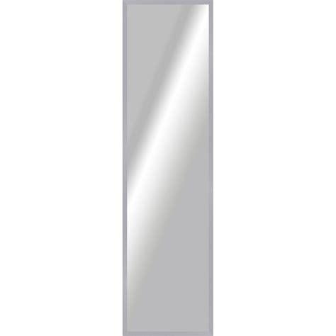 miroir basic argent l 157 x h 37 cm leroy merlin