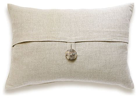 12x18 pillow cover beige textured linen lumbar pillow cover shell