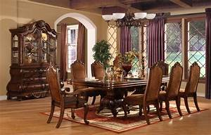 perfect formal dining room sets for 8 homesfeed With elegant formal dining room sets