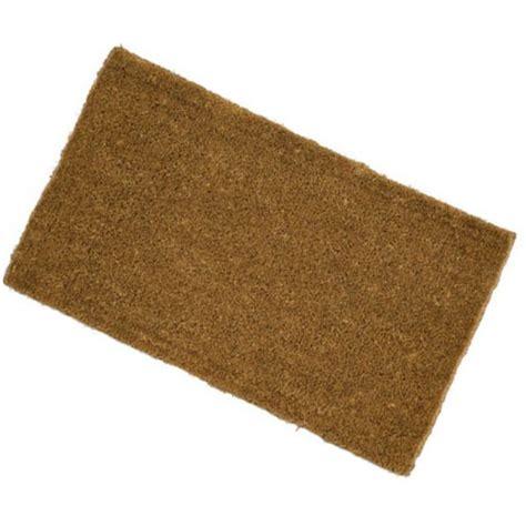 budget low profile coir doormat make an entrance the