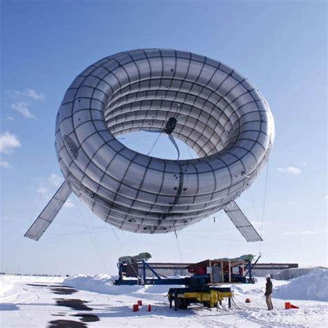 Ветряная турбина внутри дирижабля может принести энергию в любую точку планеты . Gearmix