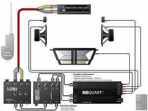 New Car Stereo Wiring Diagram With Amplifier  Diagram