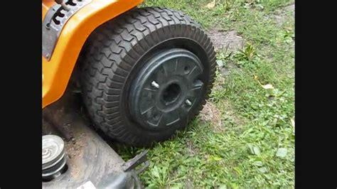 garden tractor wheel weights my 20 garden tractor wheel weights on the tractor