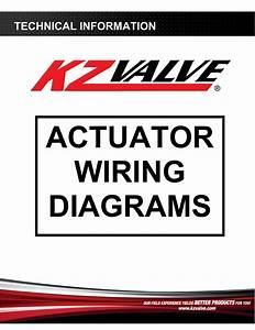 Actuator Wiring Diagrams