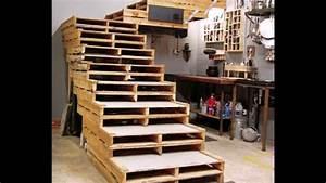 Möbel Mit Paletten : bauen mit paletten diy m bel youtube ~ Sanjose-hotels-ca.com Haus und Dekorationen