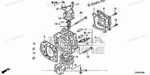 Honda Outboard Parts By Hp  U0026 Serial Range 6hp Oem Parts