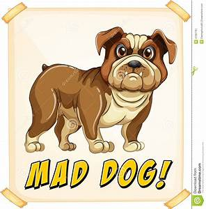 Mad Dog Stock Vector - Image: 47067761