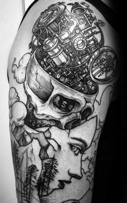 40 Esoteric Tattoos For Men - Obscure Design Ideas