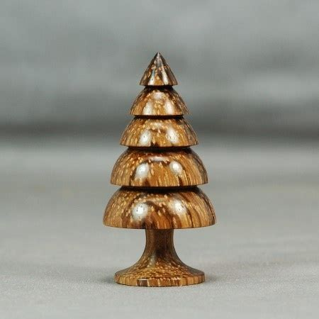 wood turning zebrawood christmas tree wooden pinterest