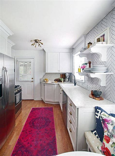tiny galley kitchen designs galley kitchen ideas 2018 for small and narrow spaces 6250