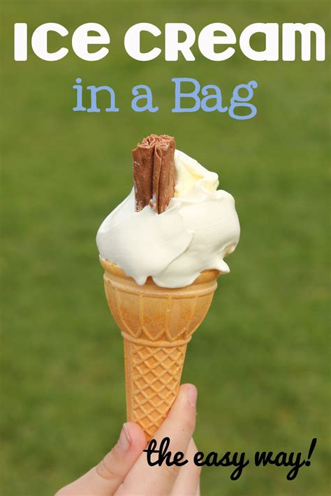 Ice Cream In A Bag Recipe  It's Preschool (song) Prek Collaborative Peeps!!  Pinterest Lakes