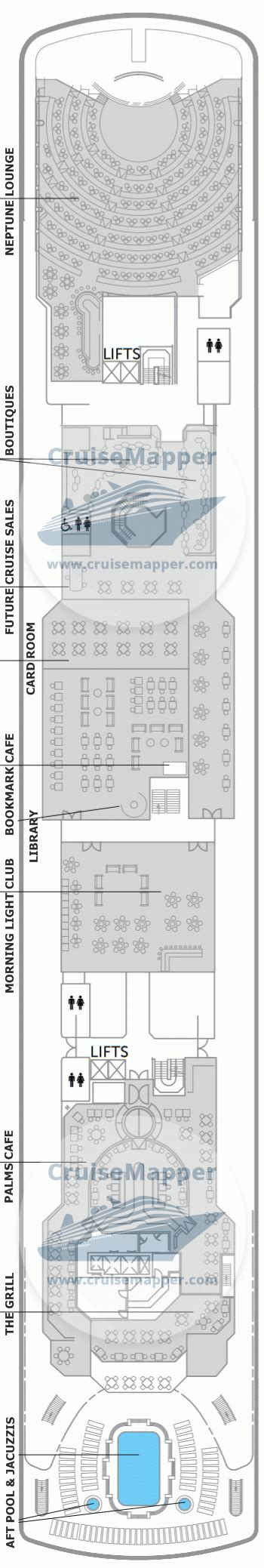 balmoral deck  plan cruisemapper