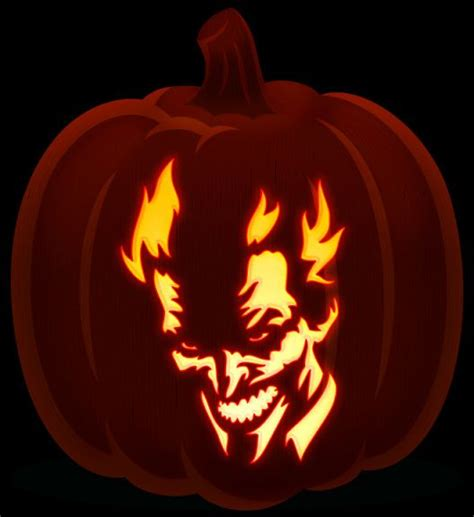 Suicide Squad Harley Quinn Pumpkin Carving Stencils