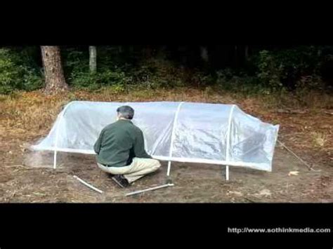 build  cheap portable hoop house greenhouse easiest