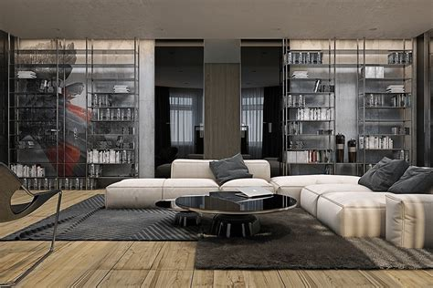 home interiors modern industrial style interior design