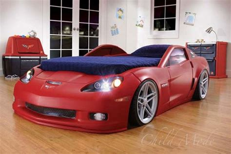 Corvette Toddler Bed by Corvette Z06 Bed Upgrades Your Childhood