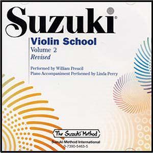 Suzuki Violin School Volume 2 by Suzuki Violin School Revised Edition Cd Volume 2 Ebay