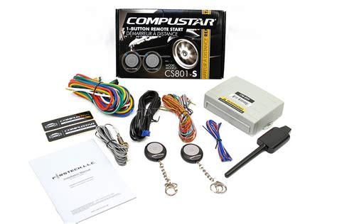 Compustar Cs801-s 1 Button Remote Start Car Auto Starter