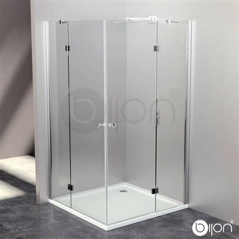 8mm glas duschkabine eckdusche duschabtrennung echtglas