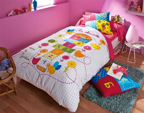 linge de lit enfant marelle becquet