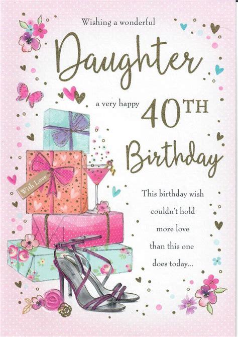 large beautifully worded wishing  wonderful daughter